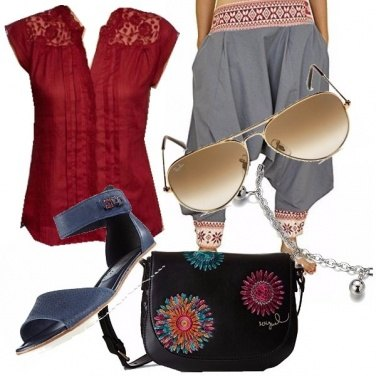 Outfit Hippy girl