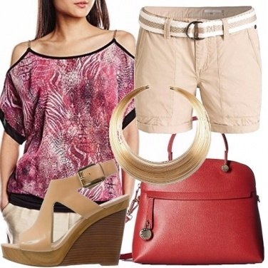 Outfit Chic in shorts