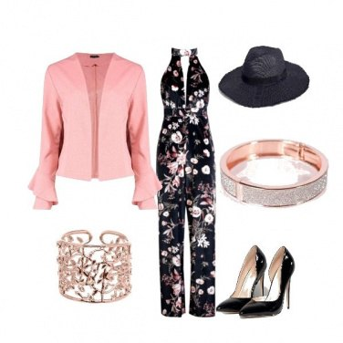 Outfit Rosa pesco...