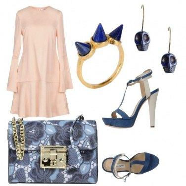 Outfit Teschi blu