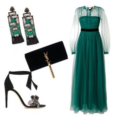 Outfit Chi di verde si veste...
