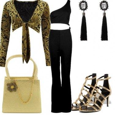 Outfit Oro puro e nero