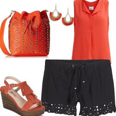 Outfit In short contro l\'afa