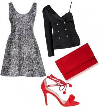 Outfit Cerimonia rock