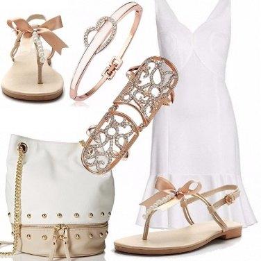 Outfit Fiocchetti in semplicità
