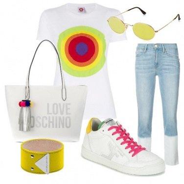 Outfit Mattinata colorata