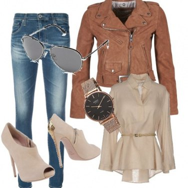 Outfit Light Brown Springtime