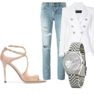 Outfit Borsa glamour