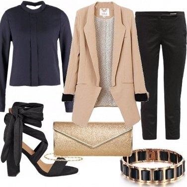 Outfit Blazer cammello