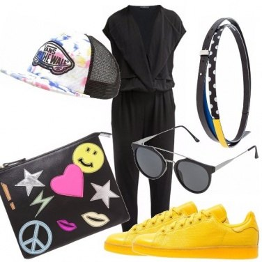 Outfit Giallo canarino