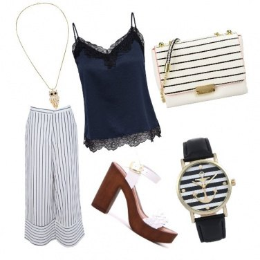 Outfit Blu navy
