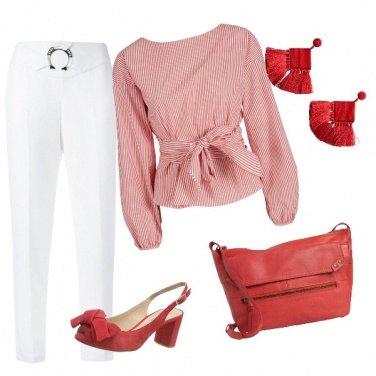 Outfit Camicia con fusciacca