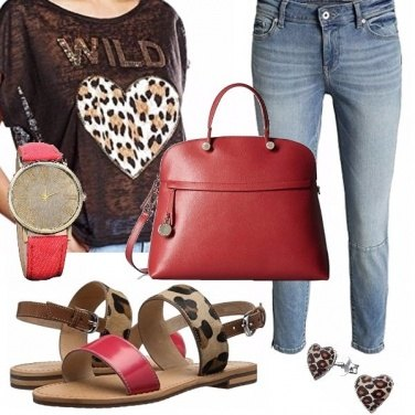 Outfit Mattinata chic