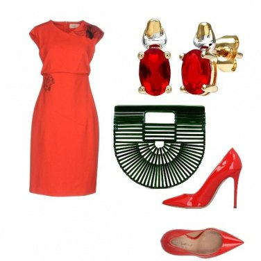 Outfit Curvy in red!