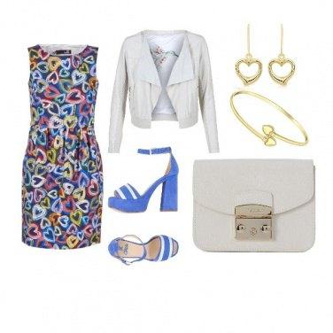 Outfit Cuori a colori