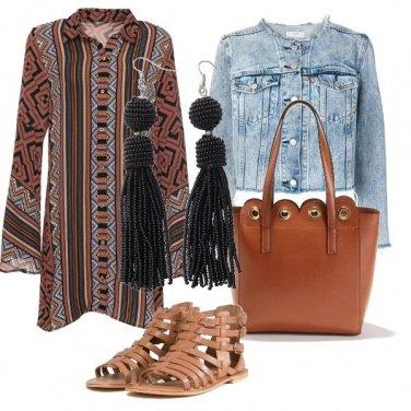 Outfit Un po' gitana