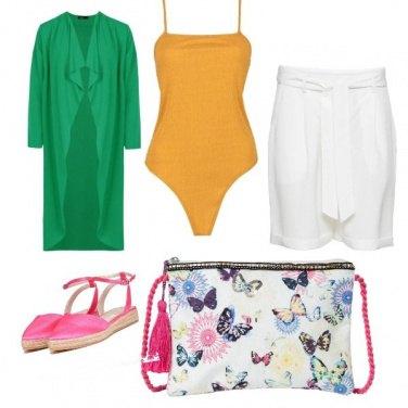 Outfit Farfalle e colori