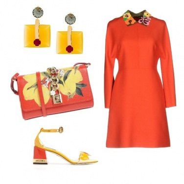Outfit Borsa e scarpe D&G