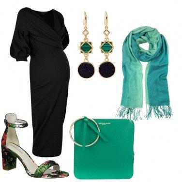 Outfit Nero brillante