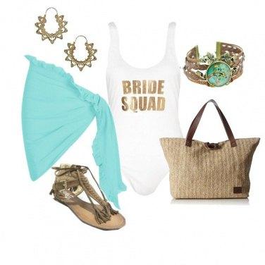 Outfit Bride squad