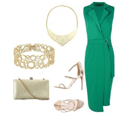 Outfit Chic per una cerimonia