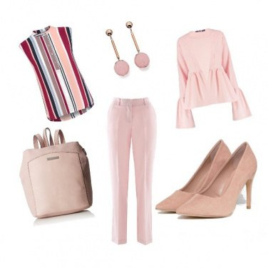 Outfit Rosa confetto