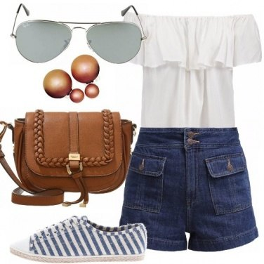 Outfit Occhi puntati sulle spalle