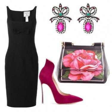 Outfit Rose e fiocchi