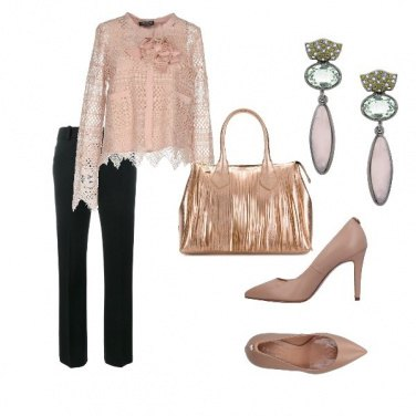 Outfit Casacca in pizzo