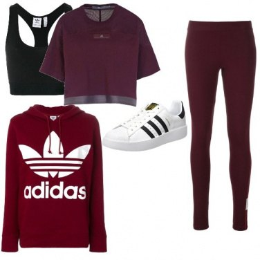 Outfit Full Adidas Workout