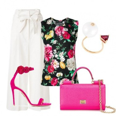 Outfit Bianco pomeriggio
