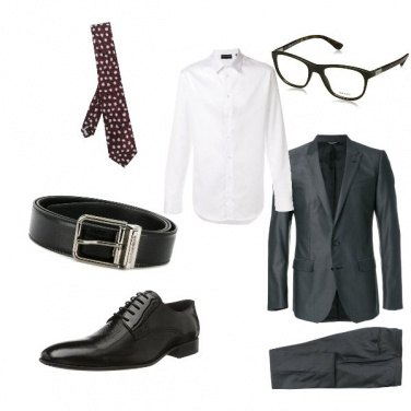 Outfit Outfit formal para hombres bajos