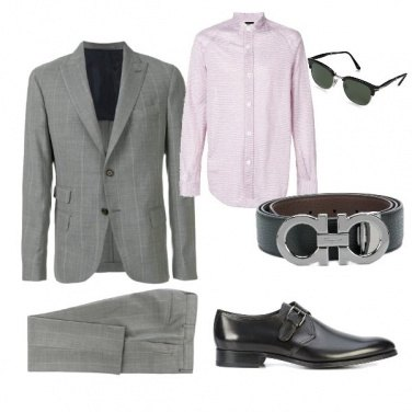 Outfit Outfit formal hombres muy delgados
