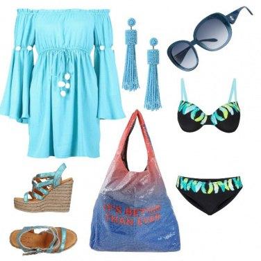 Outfit Il colore del mare...