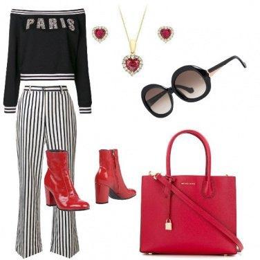 Outfit La felpa elegante