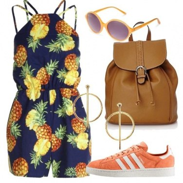 Outfit Ananas in città