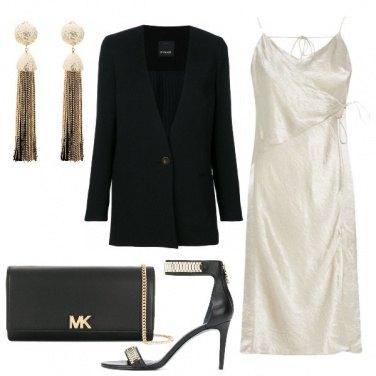 Outfit Spacco e sandalo