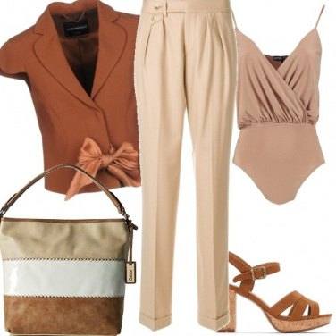 Outfit Panna ecannella