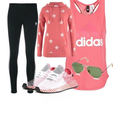 Outfit Adidas Top