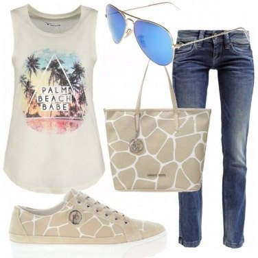 Outfit Sognando palm beach
