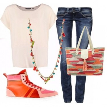 Outfit Sneakers che passione