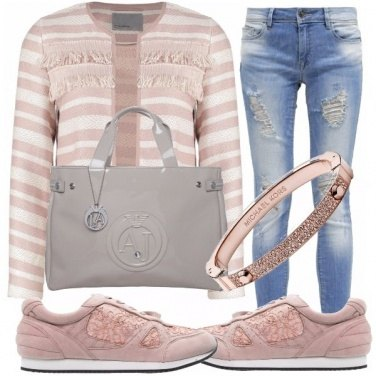 Outfit Rosa antico style