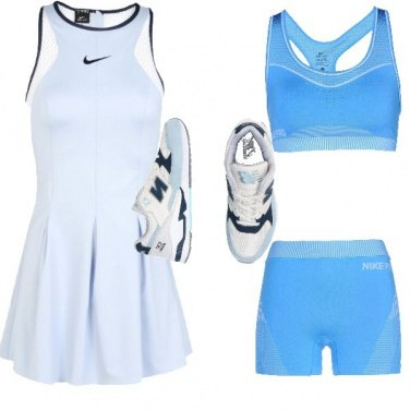 Outfit A tutto tennis