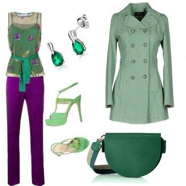 Outfit L\'eleganza del viola