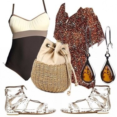 Outfit Perfette in spiaggia!