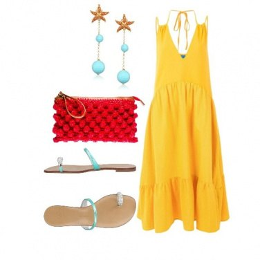 Outfit Una passeggiata in riva al mare