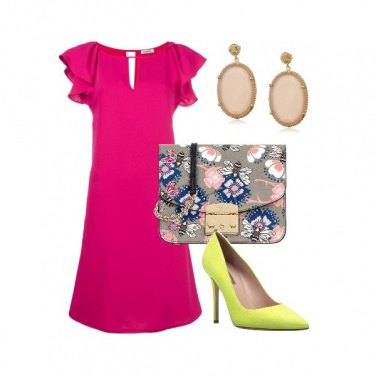 Outfit Magenta summer