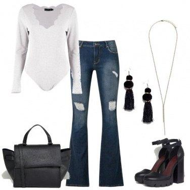 Outfit Con la scarpa alta