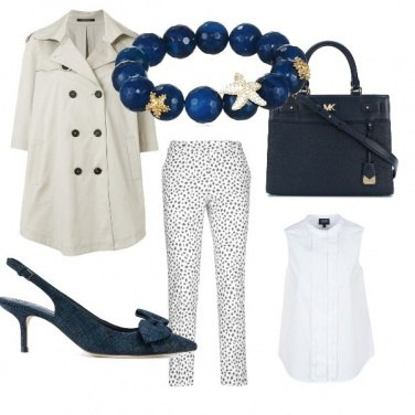 Outfit Blue spring