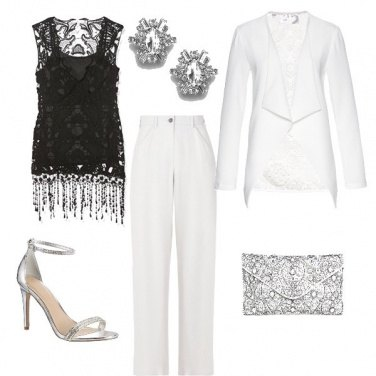 Outfit Biancosilver